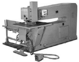 The patcher PSh-2АМ (PSh-2А) for installation of inserts in sheets veneer